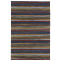 Kaleen Lily & Liam Serape Accent Rug in Grey