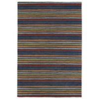 Kaleen Lily & Liam Serape 5-Foot x 7-Foot Area Rug in Grey