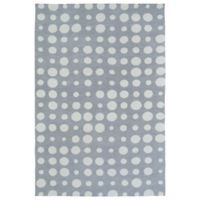 Kaleen Lily & Liam Bubbles 2-Foot x 3-Foot Rug in Grey