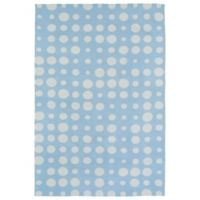 Kaleen Lily & Liam Bubbles 2-Foot x 3-Foot Rug in Blue