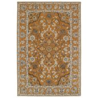 Kaleen Middleton Amol 8-Foot x 10-Foot Area Rug in Terracotta