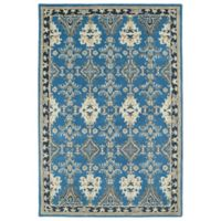 Kaleen Middleton Ardabil 2-Foot x 3-Foot Accent Rug in Blue