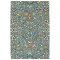 Kaleen Middleton Yazd 2-Foot x 3-Foot Accent Rug in Turquoise