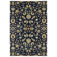 Kaleen Middleton Yazd 3-Foot x 5-Foot Accent Rug in Navy