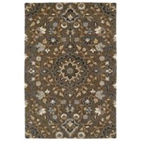 Kaleen Middleton Alhambra 3-Foot x 5-Foot Accent Rug in Chocolate