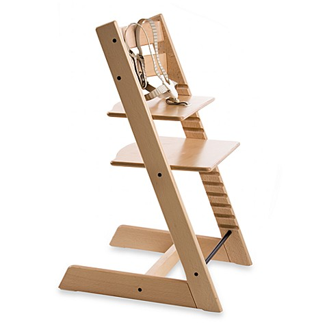 Stokke tripp trapp high chair in natural bed bath beyond for Cinture tripp trapp usate