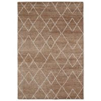 Kaleen Solitaire Diamonds 5-Foot x 7-Foot 9-Inch Rug in Brown