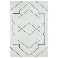 Kaleen Solitaire Shapes 2-Foot x 3-Foot Rug in Ivory