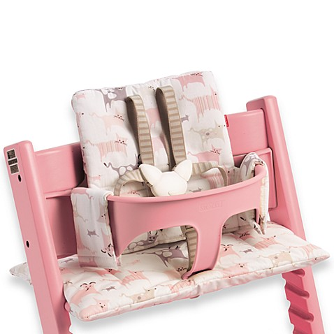 Tripp Trapp® from STOKKE® Tales Pink High Chair Cushion - Tripp Trapp® From STOKKE® Tales Pink High Chair Cushion - Buybuy BABY