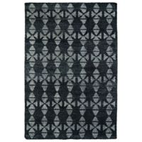 Kaleen Solitaire Tribal 4-Foot x 6-Foot Rug in Charcoal