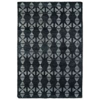 Kaleen Solitaire Tribal 5-Foot x 7-Foot 9-Inch Rug in Charcoal