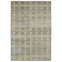 Kaleen Solitaire Tribal 8-Foot x 11-Foot Rug in Oatmeal