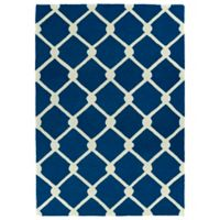 Kaleen Spaces Veranda 2-Foot x 3-Foot Accent Rug in Navy