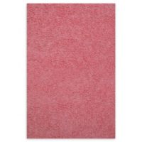 Fun Rugs™ 3-Foot 3-Inch x 4-Foot 10-Inch Chenille Cotton Shag Area Rug in Pink