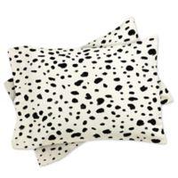 DENY Designs Rebecca Allen Miss Monroes Dalmatian Standard Pillow Sham