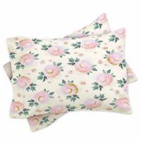 DENY Designs Iveta Abolina Rose Taffy Standard Pillow Sham in Pink