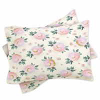 DENY Designs Iveta Abolina Rose Taffy King Pillow Shams in Pink (Set of 2)