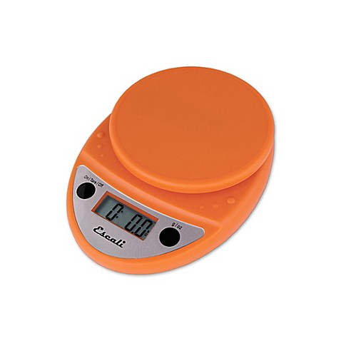 Buy Escali Primo Digital Kitchen Scale In Pumpkin Orange From Bed Bath Beyond