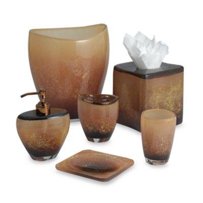 Aquarius Bronze Boutique Tissue Box Cover. Buy Bronze Bathroom Accessories from Bed Bath   Beyond
