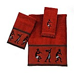 Avanti Kokopelli Bath Fingertip Towel in Copper