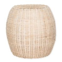 Safavieh Remi Stool in White Washed
