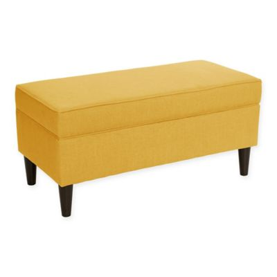 Buy Skyline Furniture Storage Bench In Diamond Yellow From Bed Bath Beyond