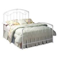 Hillsdale King Bed Set without Rails in White