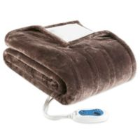 Beautyrest® Snuggle 50-Inch x 64-Inch Electric Blanket in Chocolate