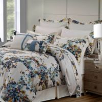 Tribeca Living Casablanca 12-Piece Full Comforter Set in Blue/Gold