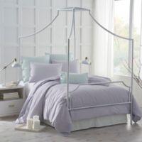 Under the Canopy® Urban Edgelands Organic Cotton Full/Queen Duvet Cover Set in Purple Thistle
