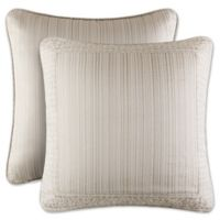 J. Queen New York™ Wilmington European Pillow Sham in Alabaster