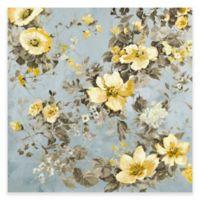 Waverly 32-Inch x 32-Inch Floral Canvas Art