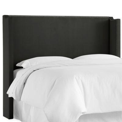 buy black king headboard from bed bath  beyond, Headboard designs