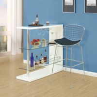 Modway CAD Wire Bar Stool in Black