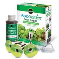 AeroGarden® Heirloom Salad Greens Seeds 3-Pod Kit