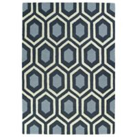 Kaleen Spaces Soho 8-Foot x 10-Foot Rug in Charcoal