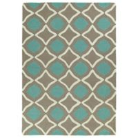 Kaleen Spaces Agra 2-Foot x 3-Foot Accent Rug in Light Brown
