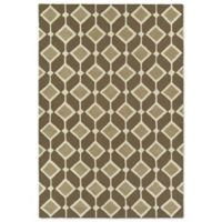 Kaleen Spaces Helsinki 5-Foot x 7-Foot Area Rug in Brown