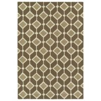 Kaleen Spaces Helsinki 8-Foot x 10-Foot Area Rug in Brown