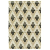 Kaleen Spaces Tribal 2-Foot x 3-Foot Rug in Grey
