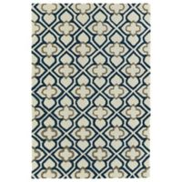 Kaleen Spaces Dublin 2-Foot x 3-Foot Accent Rug in Navy