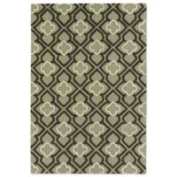 Kaleen Spaces Dublin 5-Foot x 7-Foot Area Rug in Sage