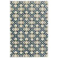 Kaleen Spaces Dublin 5-Foot x 7-Foot Area Rug in Navy