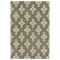 Kaleen Spaces Dublin 8-Foot x 10-Foot Area Rug in Grey