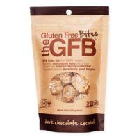 The GFB Gluten Free Bites 12 Pack 4 oz. Dark Chocolate Coconut