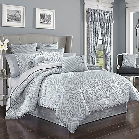 J. Queen New York™ Harrison Comforter Set In Chrome