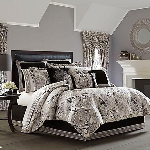 J Queen New York Guiliana Comforter Set Bed Bath Amp Beyond