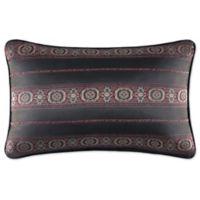 J. Queen New York™ Bridgeport Oblong Throw Pillow in Red