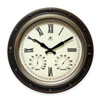 "Infinity Instruments 16"" All-Weather Outdoor Clock"