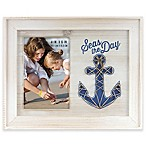"MCS Industries Sentiments ""Seas the Day"" 4-Inch x 6-Inch Picture Frame"